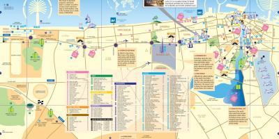 dubai térkép Dubai metró térkép   Térkép Dubai metró (Egyesült Arab Emírségek) dubai térkép